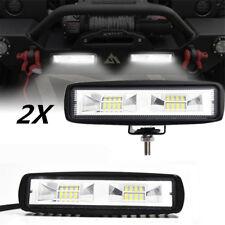 """2x 6"""" 48W LED Auto Leuchte Arbeitsscheinwerfer Zusatzscheinwerfer Nebelleuchte"""