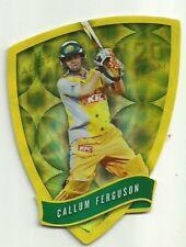 Cricket Australia Select 2009/10 DIE CUT FDC46 CALLUM FERGUSON TWENTY 20 TEAM
