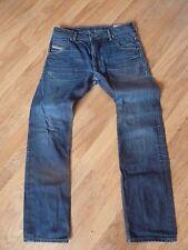 Homme diesel krooley jeans-taille 31/32 bon état (a besoin de nouveaux zip)