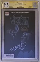 Venom #4 CGC SS 9.8 Origin of Knull & Origin Of Knowhere signed Cates & Stegman