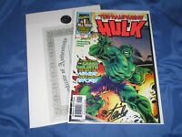 THE RAMPAGING HULK #1 Signed by Stan Lee w/COA ~Marvel Comics  AVENGERS