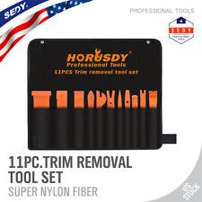 11Pc Auto Door Clip Panel Trim Removal Tool Kit Car Dash Audio Installer Pry Bar