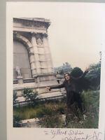 Autographe original Photo dédicacée Amelie Nothomb Littérature Signé