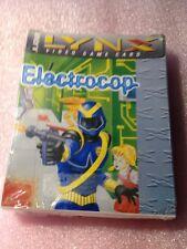 Electrocop (Lynx, 1991) Atari Factory Shrunk Wrap Original Large Box(NOS)