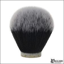 Maggard Razors 30mm Black & White Synthetic Shaving Brush Knot Only