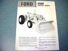 Ford 4500 Industrial Tractor Loader Brochure