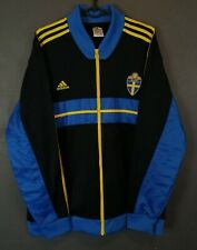 MEN'S ADIDAS SWEDEN NATIONAL 2012/2013 JACKET TRAINING SOCCER FOOTBALL SIZE XL