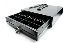 Cassetto PortaSoldi Rendiresto Registratore di Cassa Metallo 33x33x10 Plug 6V