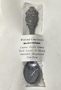 Vintage ROLEX Collectible Spoon Bucherer of Switzerland - LUCERNE - LION - NEW
