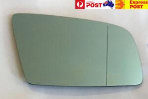 Right side mirror glass for BMW 5/6 Series E60 E61 E63 E64 2003-2010 Blue Convex