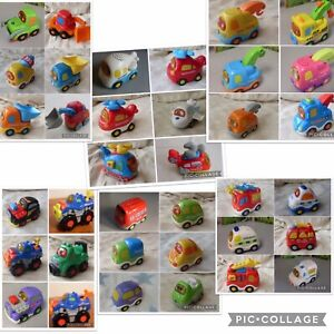 Vtech Toot Toot Drivers Press & Go Cars Pick Up Truck Racer Fire Engine Tractor