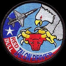 USAF 87th FLYING TRAINING SQUADRON -RED BULL- TALON DRIVER - ORIGINAL PATCH
