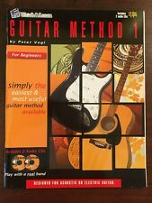 Watch & Learn Guitar Method 1 Book with 2 Cd New