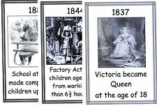 THE VICTORIAN AGE PICTORIAL TIMELINE – KS2 History Resource
