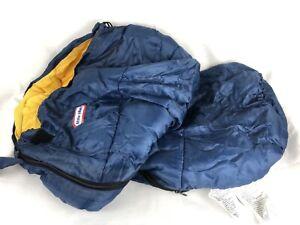 Little Tikes kids sleeping bag - blue - used