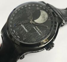 New Renato Moonphase Automatic Nickel Finish Martin Braun Modified Watch
