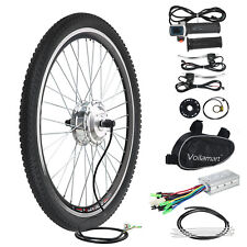 """26 """"bicyclette électrique CONVERSION E Vélo 36V 250W MOTEUR ROUE AVANT Cyclisme"""