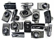 "Ford Lincoln Mercury U-nut Clips- 5/16-18 Thread- 5/8"" C to E- 15 clips- #199"