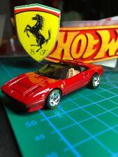 🔴Hot Wheels 2011 Custom Ferrari 308 GTS Red Magnum PI With Real Riders