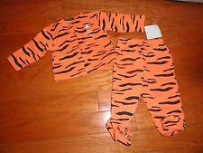 Disney 2pc Orange Tiger Pant Set w/snap closure. 3-6 Mo