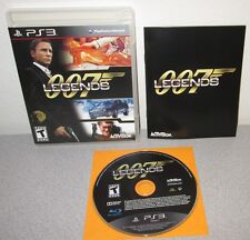 JAMES BOND 007 Legends PlayStation 3 w/Manual Moonraker Die Another Day Licence