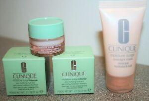 2 Clinique Moisture Surge Intense Hydrator .21 oz Overnight Mask 1oz Travel Size