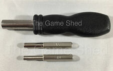 3.8mm & 4.5mm + HANDLE Tool for Consoles Games NES Nintendo N64 Gamecube Etc
