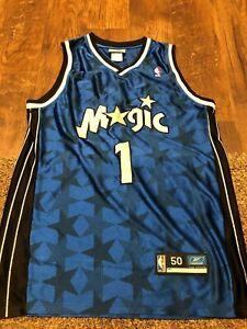 Authentic Tracy McGrady Orlando Magic Reebok Jersey