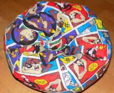 New Taz Looney Tunes Handcrafted Bean Bag Chair fits American Girl size dolls