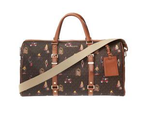 Michael Michael Kors Bedford Travel Leather Extra Large Weekender Bag 8004