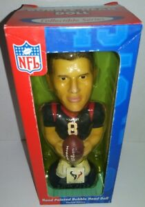 Houston Texans Gift Stocking Stuffer D. Carr Collectible Bobblehead Limited Ed
