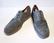 COLE HAAN Men's Lunargrand Oxford Wingtip Suede Shoe w/ Nike Lunarlon Sole Sz 12