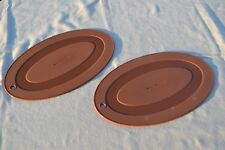 Rachael Ray Set of 2 Silicone Trivets - Brown