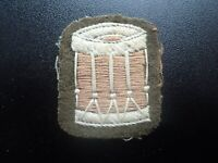 post WW2 Australian Army Band Drum Patch (D)