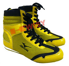 Boxing Shoes Made of Mesh and Leather Elegant Design Custom made Available