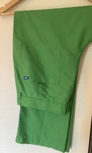 Rare J. LINDEBERG TROON Micro Twill H2Off Trousers 34/32 GREEN - VGC