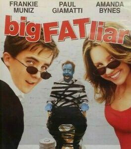 Big Fat Liar DVD Amanda Bynes Movie - FREE POSTAGE - Australian Release