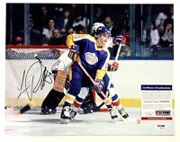 LUC ROBITAILLE SIGNED LOS ANGELES KINGS 11x14 PHOTO PSA/DNA W94044