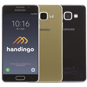 Samsung Galaxy A3 (2016) SM-A310F 16GB Smartphone LTE Android Noir Blanc Or