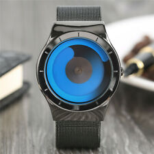 KEVIN Unique Gradual Change Color Quarzt Wristwatch Turntable Watch Non-Analog