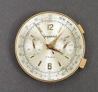 GIGANDET Chronograph Uhrwerk + Zifferblatt Ersatzteil f Uhr Armbanduhr Uhrmacher