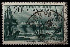 Port de SAINT MALO, Oblitéré = Cote 21 € / Lot Timbre France 394