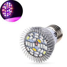 28W E27 Full Spectrum LED Grow Light Lamp Bulb Flower Veg Hydroponic Gardening