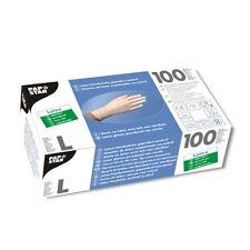 1000 weisse Latex Handschuhe gepudert Einweghandschuhe Größe L