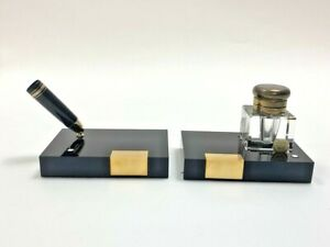Montblanc Meisterstuck Desktop Pen Stand & Ink Well - Fits No. 149 Pen