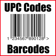 25 UPC Codes Barcode Number GS1 Certified Amazon