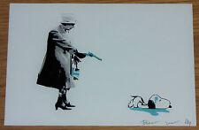 Piccola morte NYC artista la prova REGINA Print-D FACE EMIN Banksy interesse