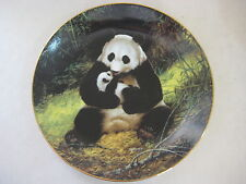 "BEAUTIFUL ""THE PANDA"" 1988 FIRST ISSUE BY WILL NELSON PLATE, BRADEX"