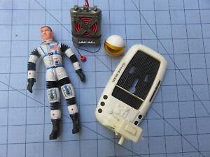 Mattel 1966 Major Matt Mason Man in Space Figure with Accessories Excellent