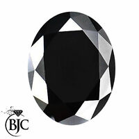 BJC® Loose Oval Cut Natural Black Sapphire Sapphires Multiple Sizes 10.00ct+